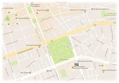 Mapa Gomez Morín